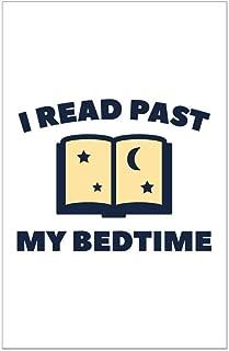 CafePress I Read Past My Bedtime Mini Poster Print
