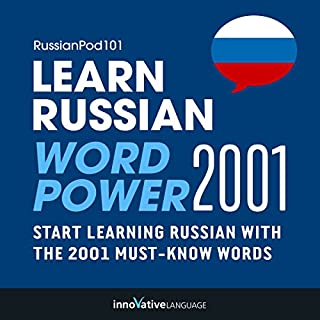 Couverture de Learn Russian - Word Power 2001