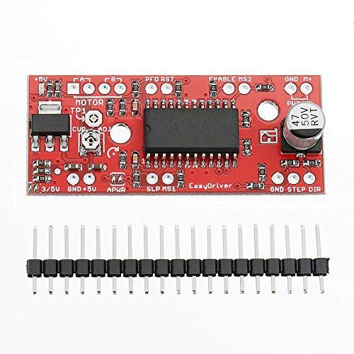 Módulo electrónico DC 30V 150mA for 7V 750mA for A3967 Easy Driver motor de pasos del tablero de conductor for A-r-d-u-i-n-o - productos que funcionan con placas A-r-d-u-i-n-o oficiales 5pcs Equipo el