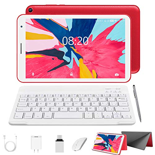 2 in 1 Tablet with Keyboard Mouse, Android 10.0 Tablets 3GB RAM 32GB ROM...
