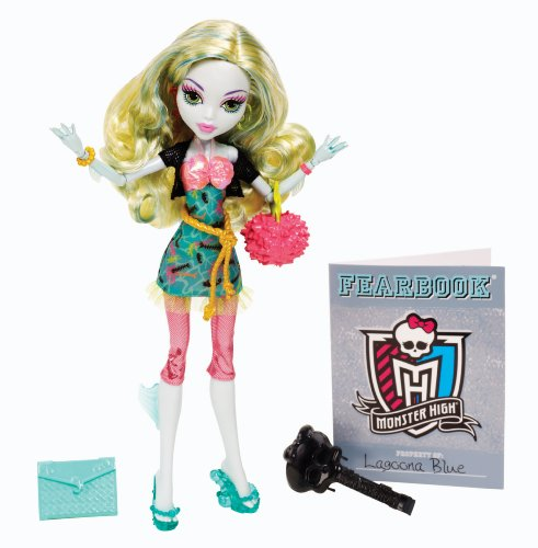 Monster High Picture Day Lagoona Blue Doll Englische Version
