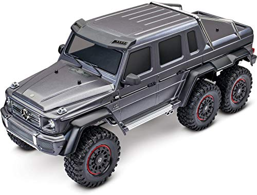 Traxxas 88096-4-SLVR TRX-4 Crawler w/Mercedes Benz G 63 AMG Body:1/10 6X6 RTR