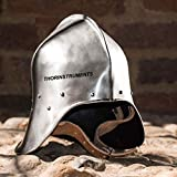 THORINSTRUMENTS (with device) Armor Sallet Medieval Helmet Battle Ready Helmet
