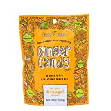 Gem Gem Ginger Candy Chewy Ginger Chews (Orange, 5.0oz, Pack of 1)