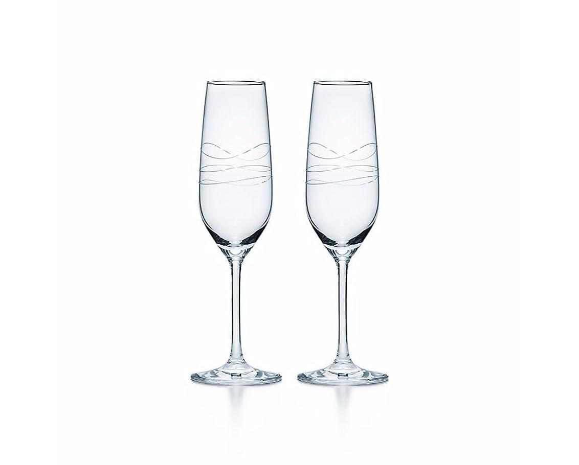 入力どうしたのランタンティファニー TIFFANY&Co カデンツ シャンパン グラス シャンパングラス ペア 2点セット 150ml