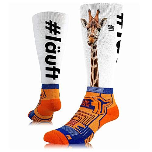 LUF SOX Performance Ride - Socken für Damen und Herren, Unisex-Größe 35-38, 39-42 und 43-47, funktionell, für Sport und Freizeit