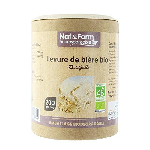 Nat & Form - Nat&form Levure De Biere Revivifiable Bio 200 Gelules
