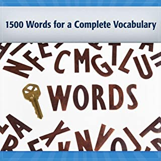1500 Words for a Complete Vocabulary: Core Words #3 audiobook cover art