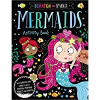 Mermaids Activity Book (Scratch and Sparkle) [Paperback]