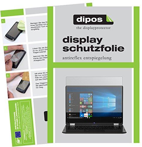 dipos I 2X Schutzfolie matt kompatibel mit Medion Akoya E3215 Folie Bildschirmschutzfolie
