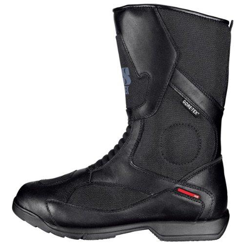 Botas IXS para moto / X-GTX Boots Madox en negro, color del artículo: negro; tallas de calzado: 46