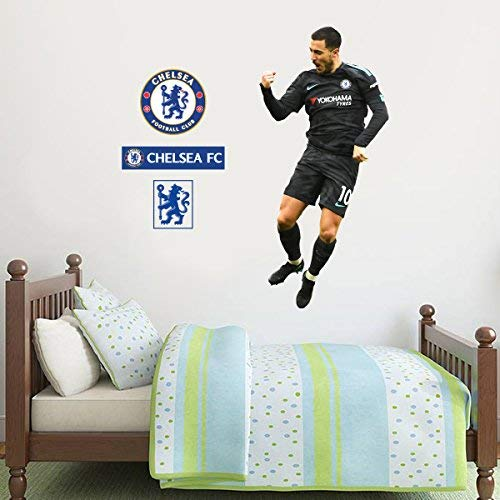 Official Chelsea Fc Eden Hazard Celebration Player Decal Cfc Wall Sticker Set Decal Vinyl Poster Print Mural 120cm Height Baby