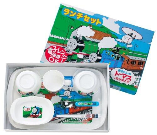 オーエスケー 日本製 きかんしゃトーマス ベビー ランチセット 7点セット BG-280 1セット
