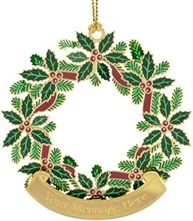 Beacon Design ChemArt Christmas Wreath Ornament