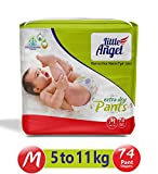 360 degree soft elastics fit your baby's body perfectly while offering free movement Fluid distribution channels that helps to distribute fluid evenly through-out the diaper Double leak protection helps prevent leakage Soft cotton like material is co...
