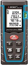 SNDWAY SW-T100 Digital Laser Rangefinder 100M Distance Meter Tape Measure Area Volume