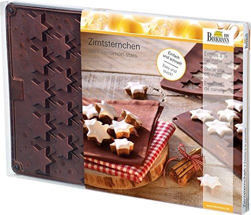 Birkmann 250512 Silikon Backform Zimtsternchen
