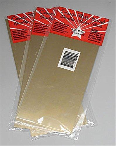 K&S Precision Metals 253 Brass Sheet, 0.032