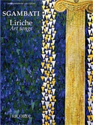 Hal Leonard sgambati-liriche (Art Songs)