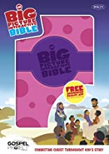 The NKJV Big Picture Interactive Bible, Purple/Pink Polka Dot LeatherTouch: Connecting Christ Throughout God's Story (The Big Picture Interactive / The Gospel Project)