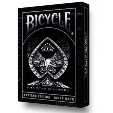 Strixmagic Mazzo di Carte Bicycle Shadow Masters