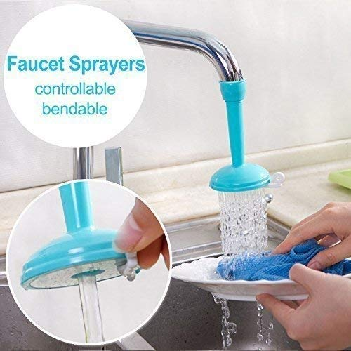HRIDAAN's Tap Filter Shower Sprinkler Faucet for Kitchen Sink, Bathroom and Other taps (Multicolour)