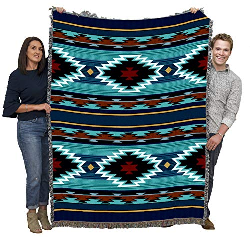 Pure Country Tapestry - Manta (134 x 70 cm), Color Azul