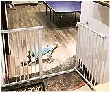 MOM Haustierspielplatz-Tür, mit Tür, freier lochender Gartenzaun, Isolierungs-Tor-Kindersicherheits-Treppen-Hundezaun, Haustier-Isolierungs-Treppen-Geländer-Tor,H: 80 cm,153-159CM