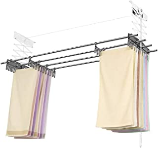 pulley system for drying clothes