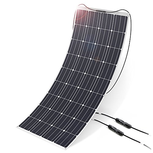 ALLPOWERS 160W Paneles Solares Monocristalinos ETFE Módulo Solar 12 V Panel Solar para Autocaravanas, Casa de jardín, Barco