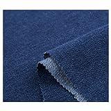 Tela de mezclilla Algodón puro Hacer pantalones Camisa Ropa Delantal Manual de bricolaje tela vaquera denim...