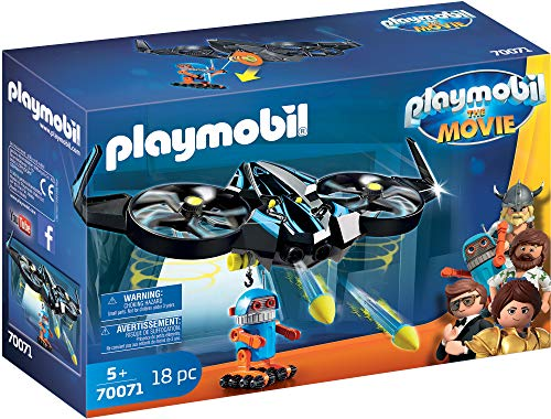 Playmobil The Movie 70071 Robotitron con Drone, dai 5 Anni