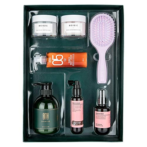 A Good Hair Day of Seoul, Best of Korean Hair Care, 7-Piece Set
