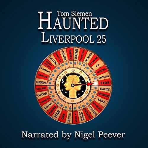 Haunted Liverpool 25 audiobook cover art