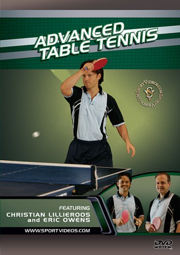 Advanced Table Tennis DVD featuring Coach Christian Lillieroos and Eric Owens