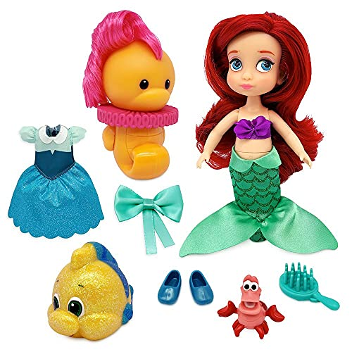 Disney Ariel Animators' Collection Mini Doll Play Set – The Little Mermaid – 5 Inches