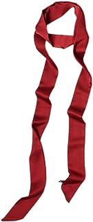 Ribbon Scarf for Women Long Skinny Satin Belt Sash Necktie Neck Scarf ZWJ01