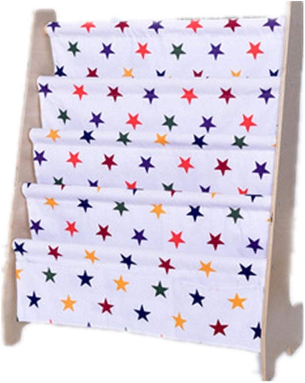 bienvenido a comprar Wuxingqing Estantes para Libros Estantería de Madera de estantería estantería estantería para Niños (Color   Estrella, tamaño   63  28  76cm)  comprar barato