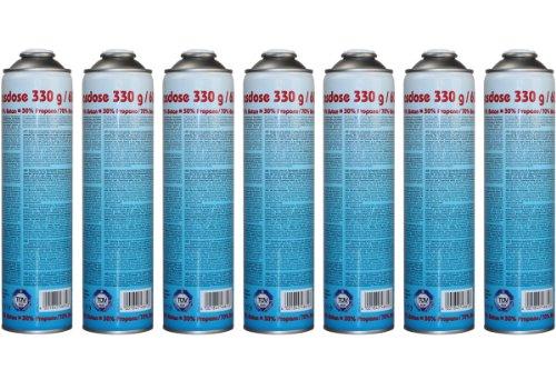 CFH Druckgasdose 330g / 600ml - EN 417 - 7 Stück