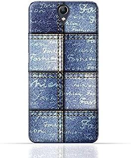 Lenovo Vibe S1 Lite TPU Silicone Case with Denim Fabric Seamless Design