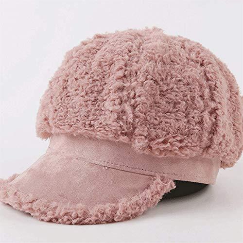 Auoeer Frauen Barets Womens Vintage Hat Stilvolle Visier-Bowler-Hut Winter Herbst...