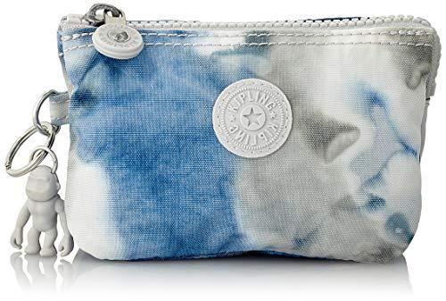 Kipling Creativity S, Cartera para Mujer, Multicolor (Tie Dye Blue), 14.5x9.5x5 cm
