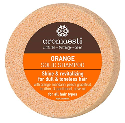 Aromaesti Shampoo Bar Sinaasappel (futloos haar)