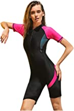 CapsA Wetsuit Women Shorty Wet Suit Premium Neoprene One Piece Wet Suits Fishing Diving Surfing Snorkeling