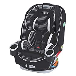 This image shows Graco 4Ever 4-in-1 which is the safest convertible car seat in my review