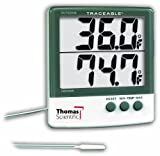 Thomas - 4126 Traceable Big-Digit Thermometer, -58 to 158 degree F, -50 to 70 degree C