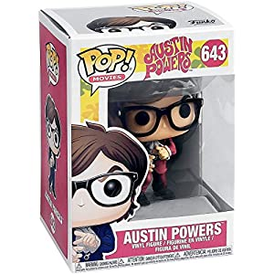 Pop! Austin Powers - Figura de Vinilo Austin Powers Red Suit Exclusive 5