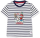 SALT AND PEPPER Baby-Jungen B Pirat Stripe Bande T-Shirt, Blau (Classic Blue 486), 86