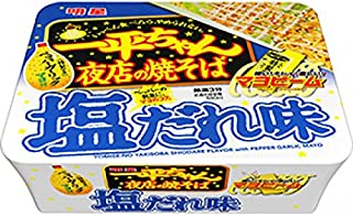 明星 一平ちゃん夜店の焼そば 塩だれ味 132g 1ケース(12食入)