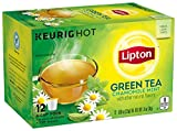 Lipton K-Cup Green Tea K-Cups Soothe Green tea 12 ct - Pack of 6